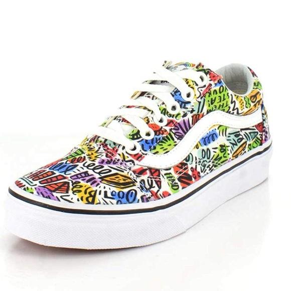 33c948130e40b4 ans Old Skool Dallas Clayton Doodle Shoes
